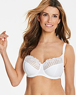 Charnos Sienna Balcony Wired White Bra