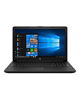 HP 15.6in AMD 4GB FHD Laptop 15-db0043na