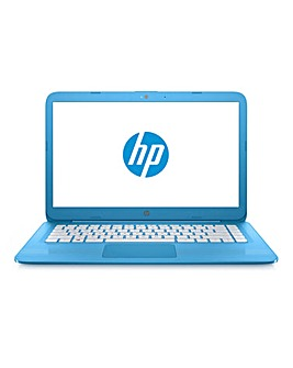 HP Stream 14in Laptop 14-ax007na Blue