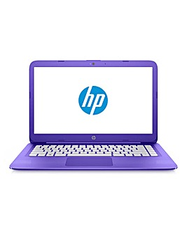 HP Stream 14in Laptop 14-ax008na Purple