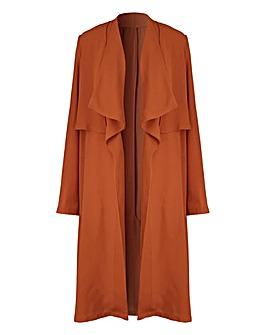 Tan Kimono Mac Detail
