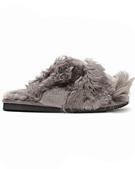 Daniel Socurl Curly Wool Slippers