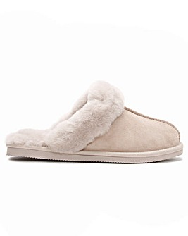 Daniel Shut Sheepskin Twinface Slippers