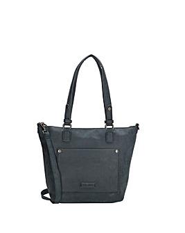 Enrico Benetti Bobbi 2 Handle Faux Leather Shoulderbag