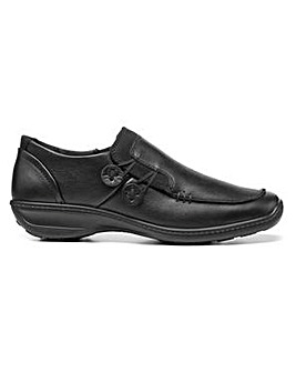 Hotter Linden Wide Fit Touch & Close Shoe