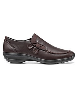 Hotter Linden Wide Fit Touch-Close Shoe