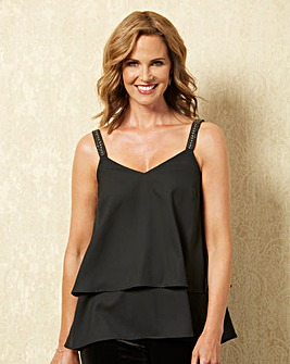 Double Layer Strappy Camisole