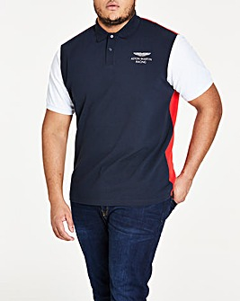Hackett Amr Colourblock Polo