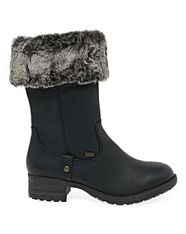 Rieker Newam Standard Fit Calf Boots
