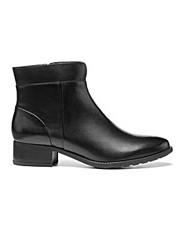 Hotter Hamilton Wide Fit Ankle Boot