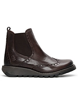 Fly London Sono Brogue Ankle Boots