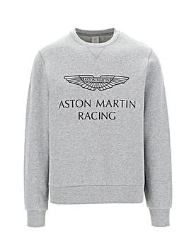 Hackett AMR Print Crewneck Sweatshirt