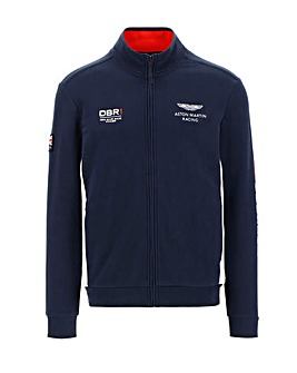 Hackett AMR Tour Full Zip Sweat