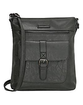 Enrico Benetti Amy Single Handle Faux Leather Shoulderbag