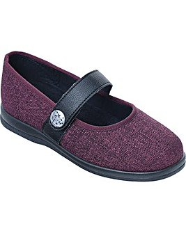 Cosyfeet Koryl Extra Roomy (6E Width) Women's Fabric Shoes
