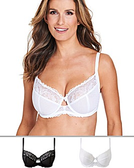 2 Pack Eva Full Cup Bras