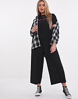 Black Slouchy Wide Leg Jumpsuit
