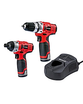 Einhell Cordless Drill Twin Pack