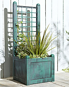 Narrow Trellis Planter