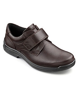 Hotter Sedgwick Touch-Close Dual Fit Shoe