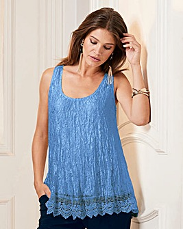 Together Lace Tunic With Hem Detail