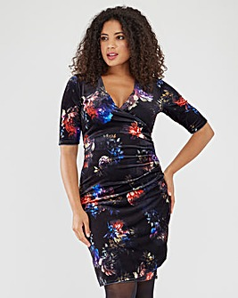 Joe Browns Printed Velour Dress