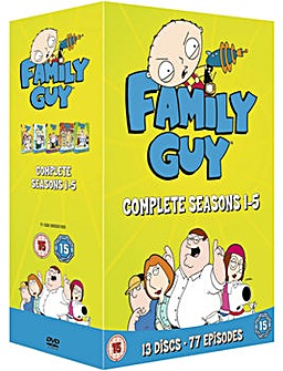 Family Guy Season 1 To 5