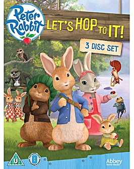 Peter Rabbit Lets Hop Boxset