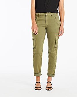 Slim Leg Cargo Trousers