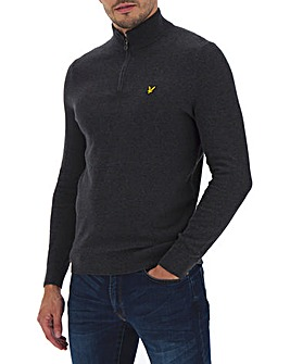 Lyle & Scott 1/4 Zip Neck Jumper