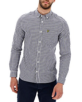 Lyle & Scott Gingham Check Slim Shirt