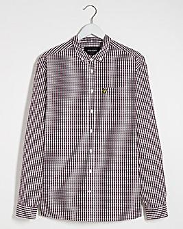 Lyle & Scott Gingham Check Slim Shirt