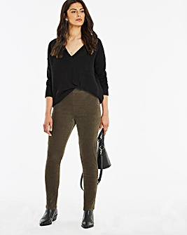 Cord Leggings Regular