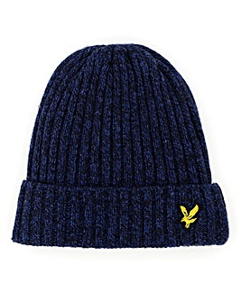 Lyle & Scott Melange Wool Mix Beanie