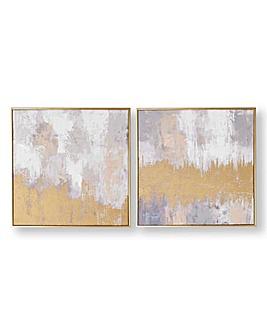 Graham & Brown Set of 2 Laguna Canvas