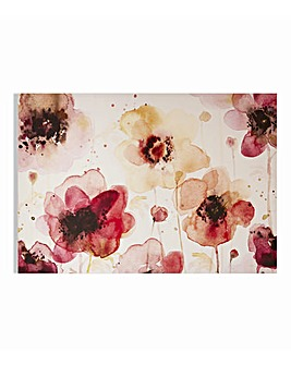 Graham & Brown Watercolour Floral Canvas