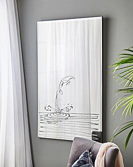 Dolphin 3D Mirror