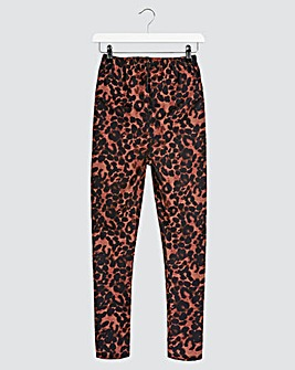Leopard Print Leggings Regular