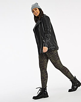 Animal Print Leggings Regular