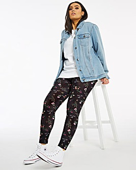 Ditsy Floral Print Leggings Regular
