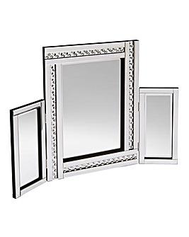 Glitz Silver Dressing Table Mirror