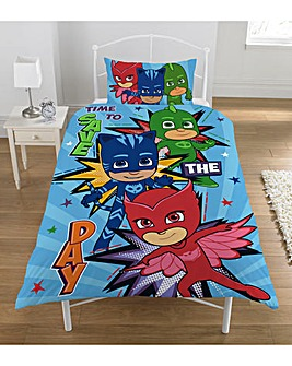 PJ Masks Save The Day Duvet Set
