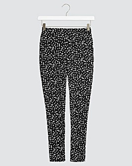 Mono Print Leggings Regular