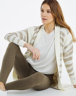 Khaki Full Length Stretch Leggings Long