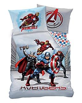 Marvel Avengers Invincible Duvet Set