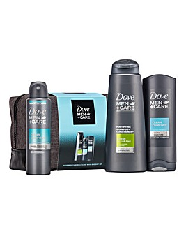 Dove Men + Care Daily Wash Bag Gift Set