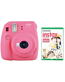 instax Mini 9 Camera with 10 shots