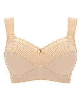 Miss Mary Diamond Non Wired Cotton Bra