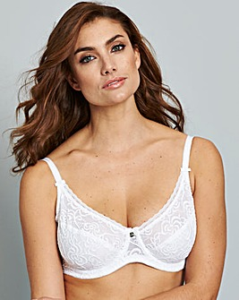Berlei Heaven Lace Wired Bra White
