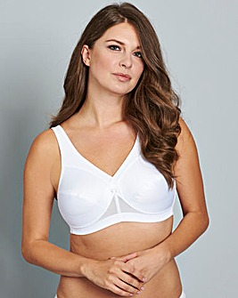 Glamorise Active Support White Bra